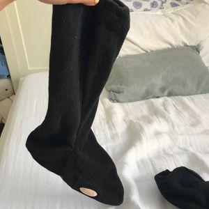 BALLET POINTE SHOE LEGWARMER SOCKS